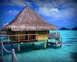 Остров Бора-Бора, настоящая жемчужина в Тихом океане