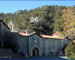 Один день в монастыре Киккос